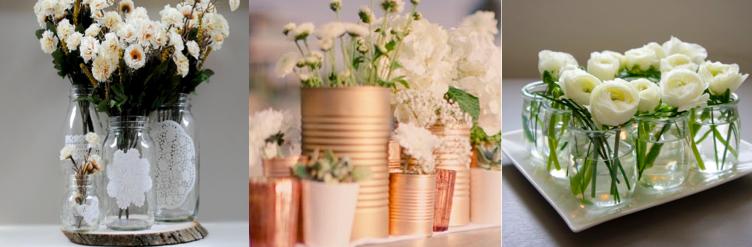 Embellir votre table avec des fleurs et bougies oh chef for Centre de table de cuisine