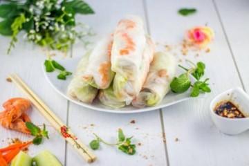 Koud buffet Asian
