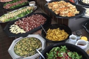 Cold Italian buffet 5 course