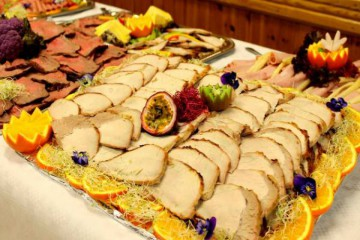 Receptie buffet